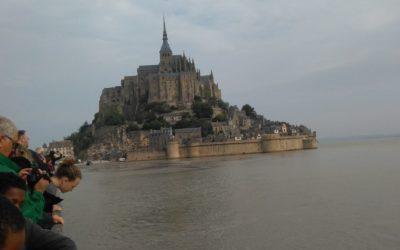 Sortie au Mont-Saint-Michel des élèves de 5ème