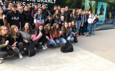 Sortie à PARIS pour les élèves de 3ème