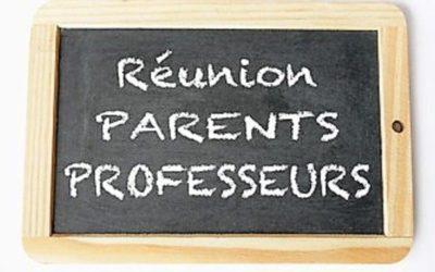Réunion parents-professeurs avec remise des bulletins pour les élèves SEGPA