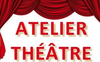 Inscription à l'atelier théâtre 2020/2021