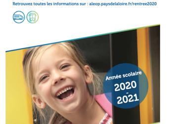 Inscription aux transports scolaires année scolaire 2020/2021