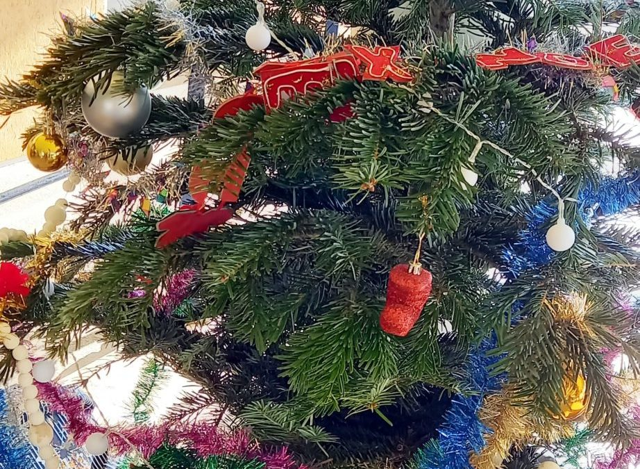 Ambiance fête de Noël au collège Jules Ferry de Mayenne