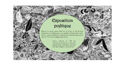 Exposition poétique au CDI